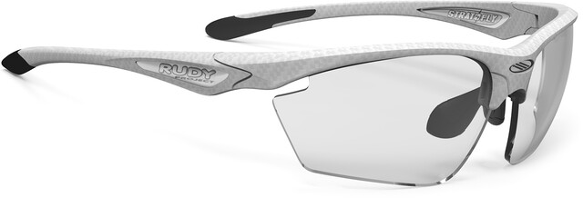 Rudy Project Stratofly Cykelbriller, white carbon impactx photochromic 2 black
